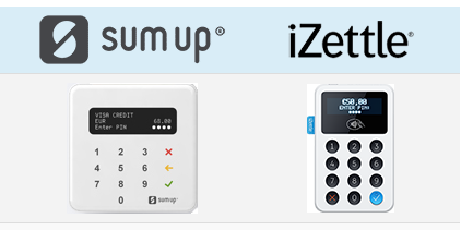 sumup vs. izettle comparison